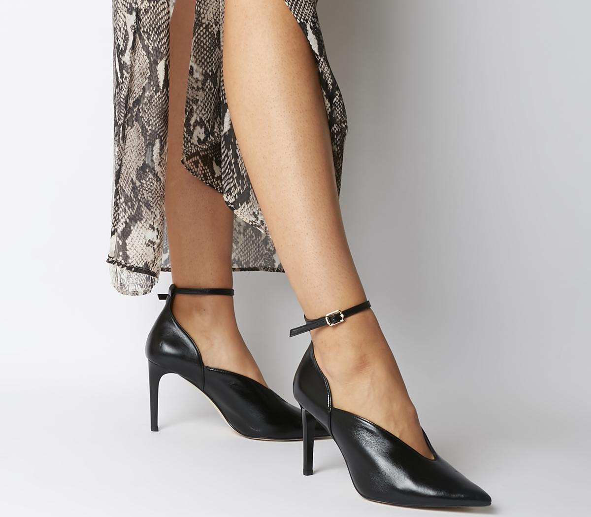 Office Hot Toddy- Ankle Strap Shoe Boot