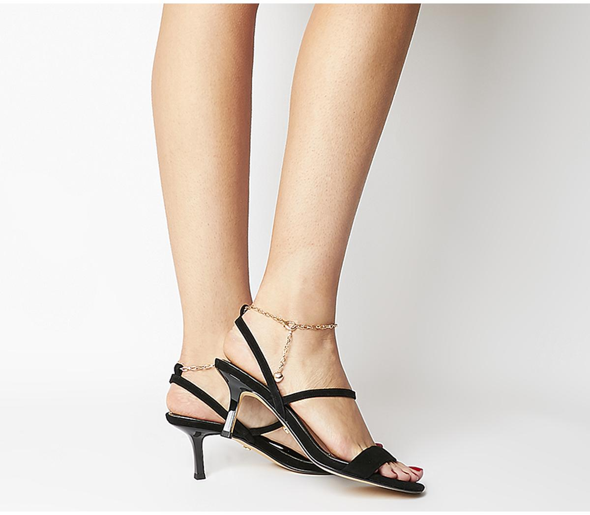 Merry Go Round Heels With Ankle Chain