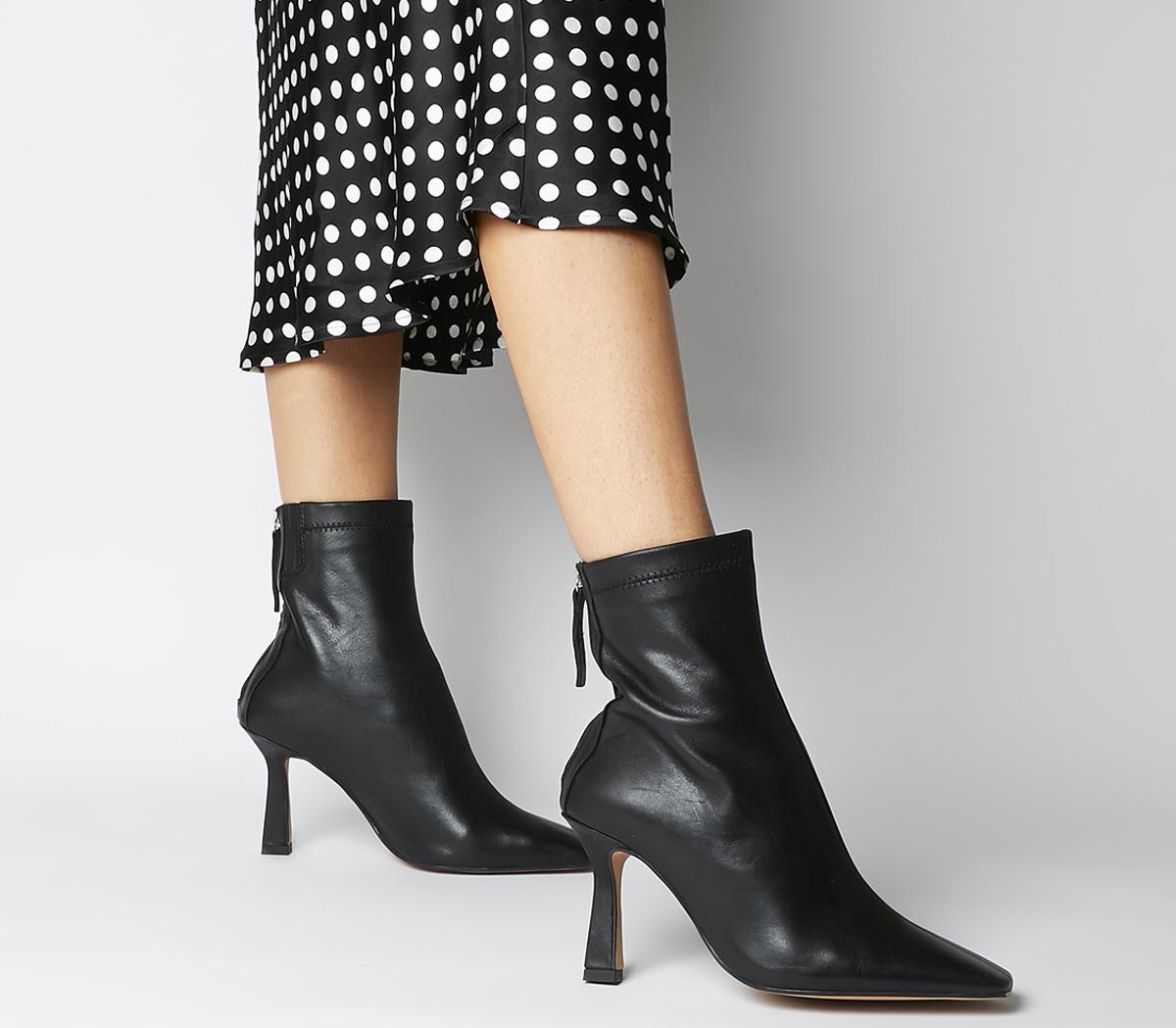 Address Dressy Square Toe Boots