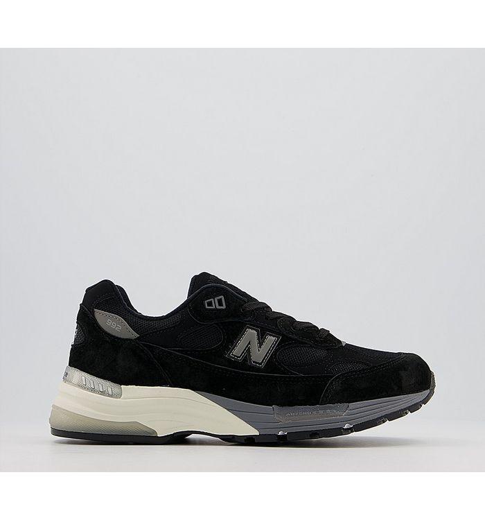 New Balance M992 Trainers MIUSA BLACK,Grey,Black