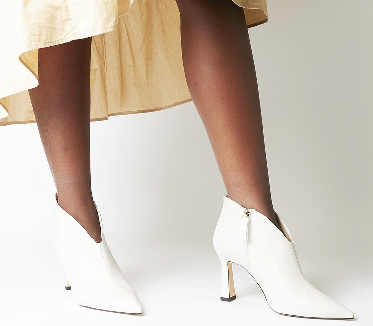 Office Millicent Flared Heel Shoeboots