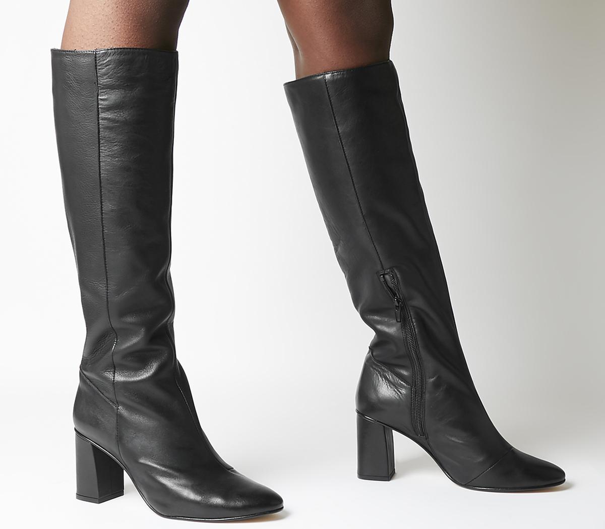 Kingdom Block Heel Knee Boots