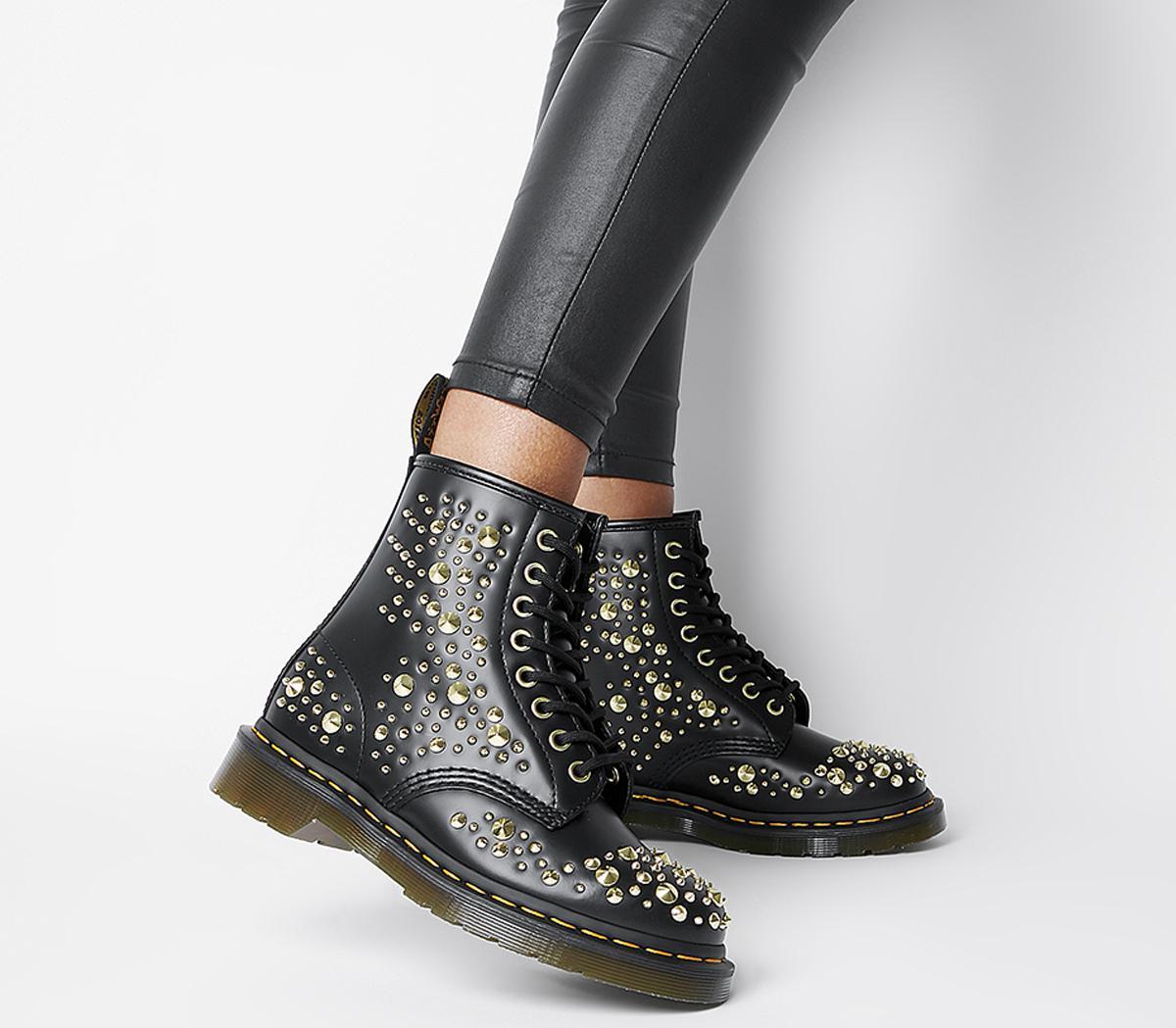 1460 8 Eye Spike Boots