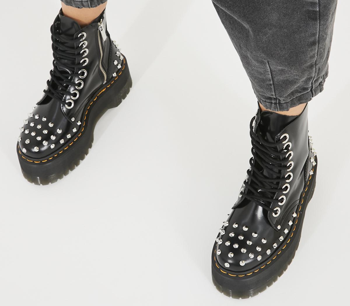 Palloncino sacro mazzo  Dr. Martens Jadon Max Stud Boots Black - Ankle Boots