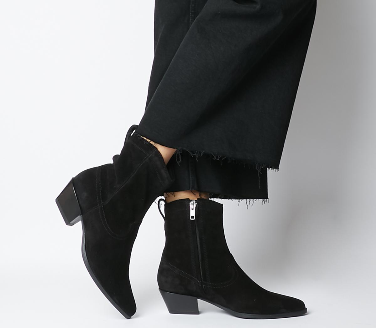 Emily Western Block Heels