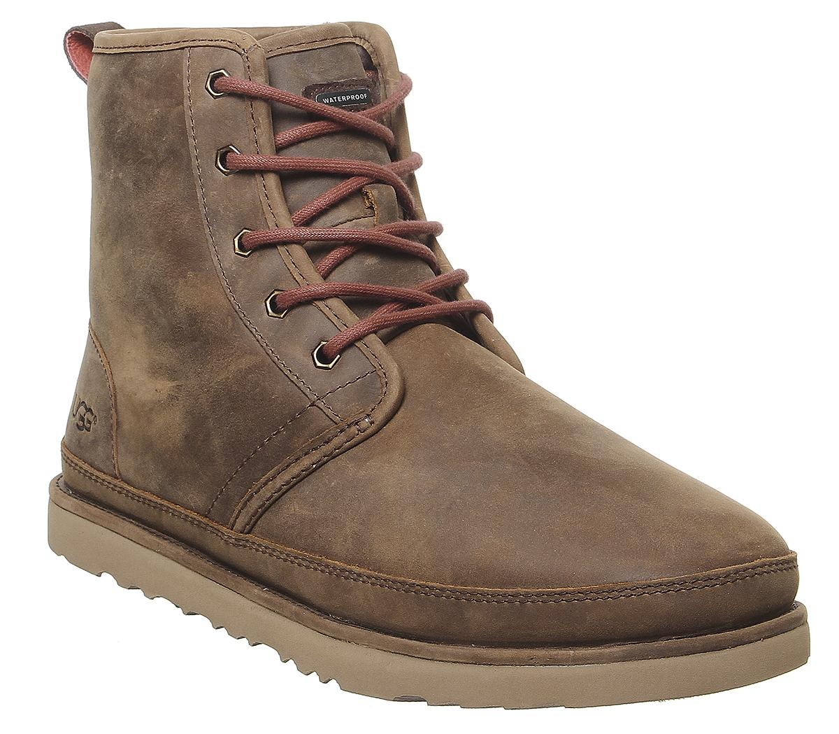 UGG Harkley Waterproof Boots Grizzly