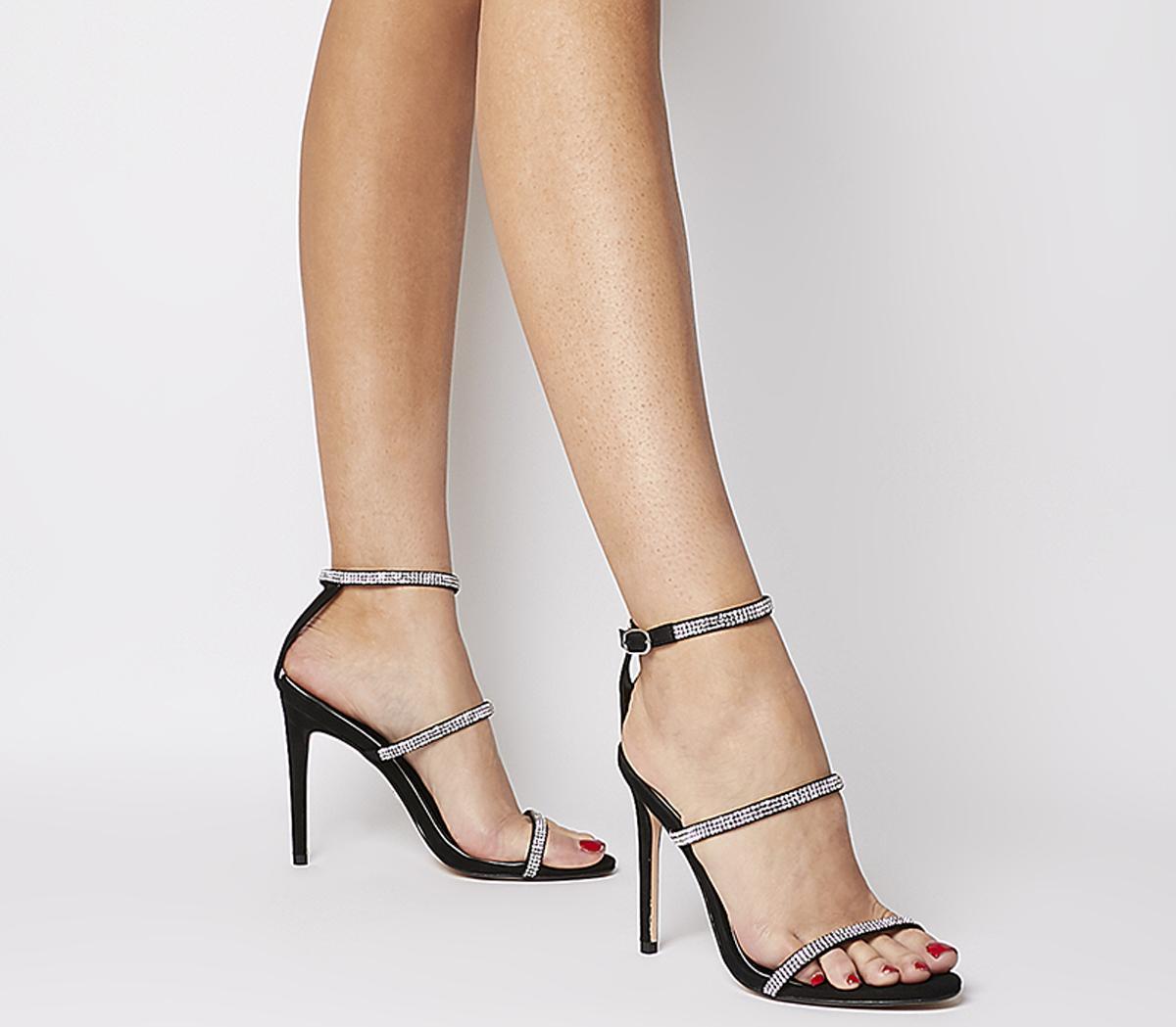 Hidden Treasure Triple Strap High Sandals