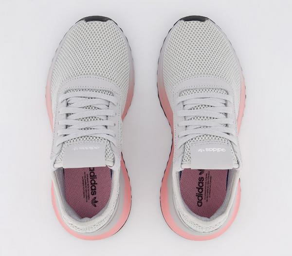adidas U_path X Trainers Grey Grey White - Hers trainers NtI9eQg