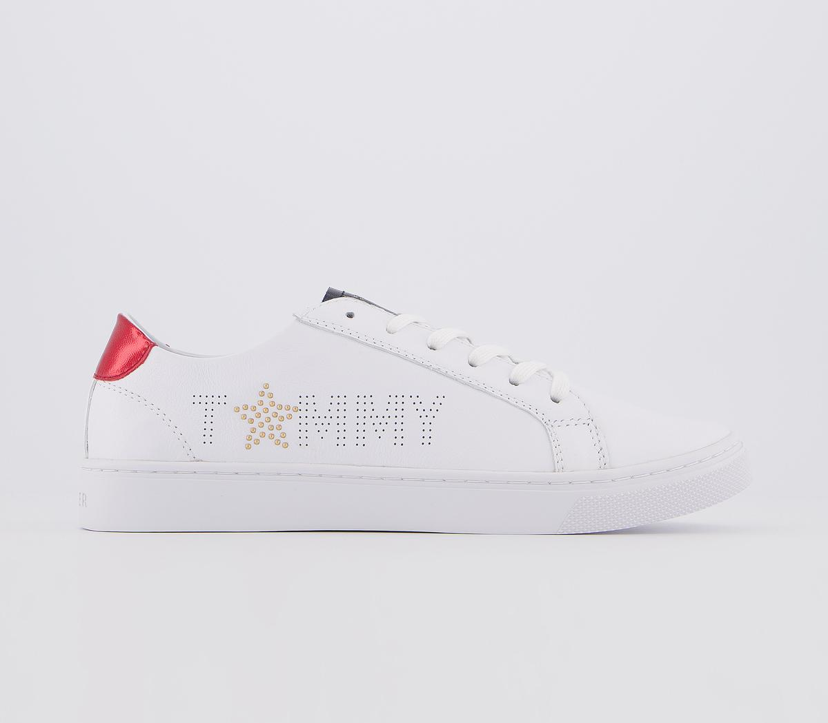 Cheap Womens White Tommy Hilfiger Star