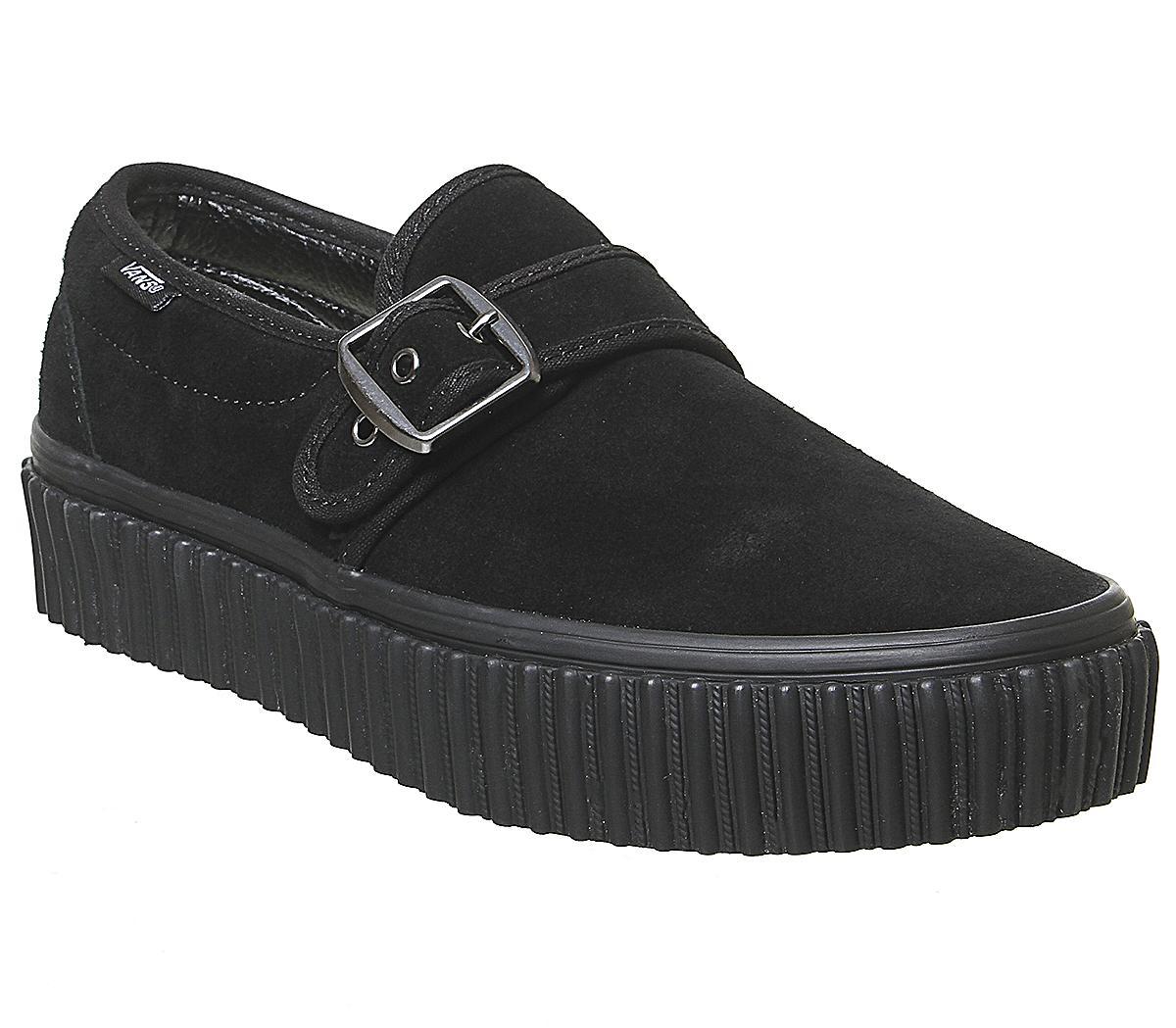 Vans Style 47 Creeper Slip Ons Black
