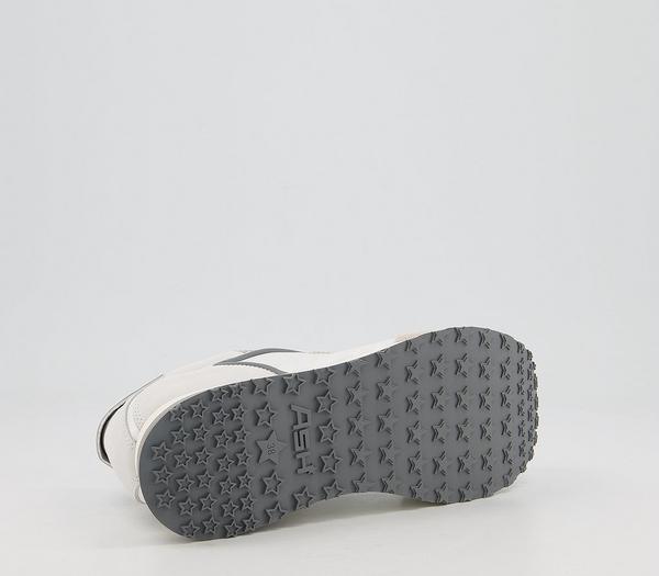 Ash Tiger Sneakers Grey White - Flats TpAuq1m
