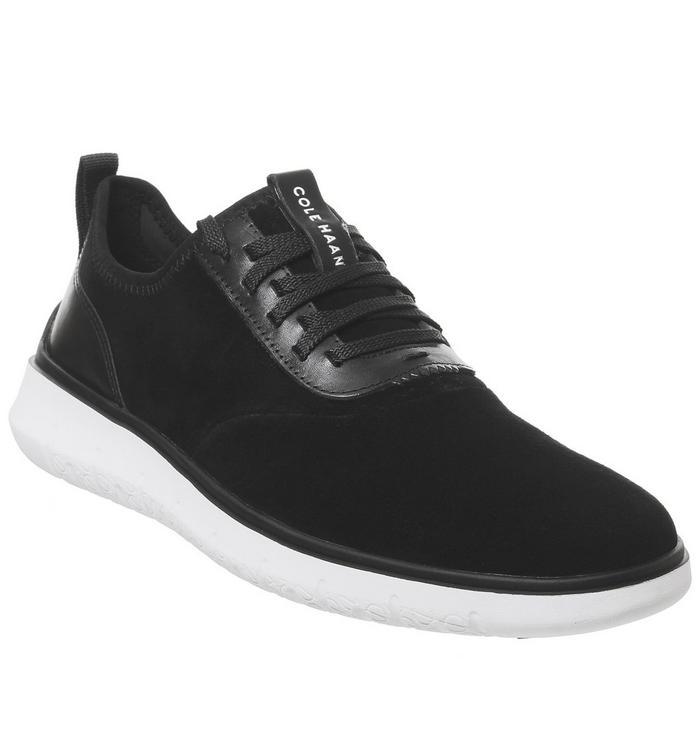 Cole Haan Cole Haan Generation Zerogrand Sneaker BLACK SUEDE IVORY