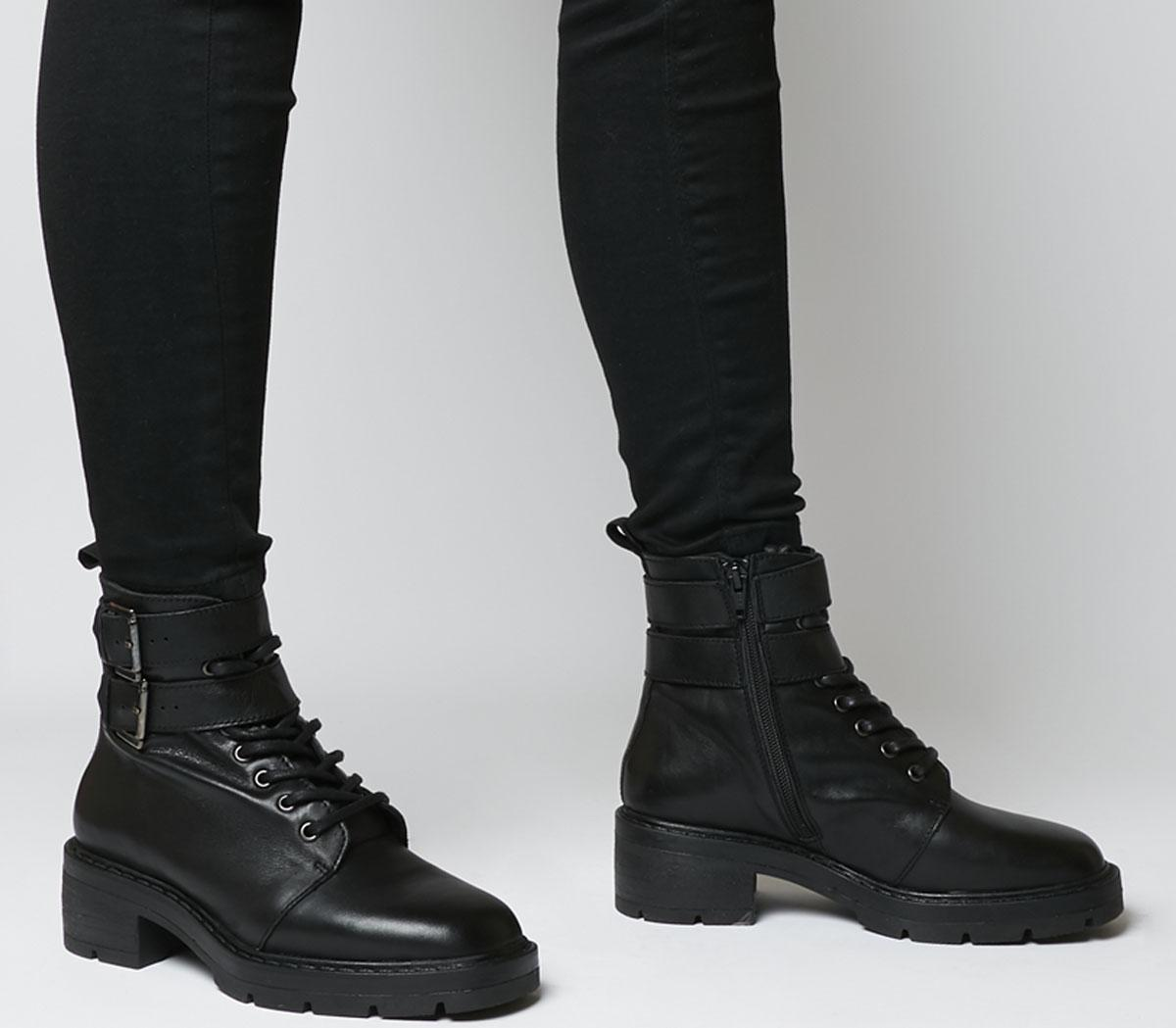 Authority Lace Up Boots