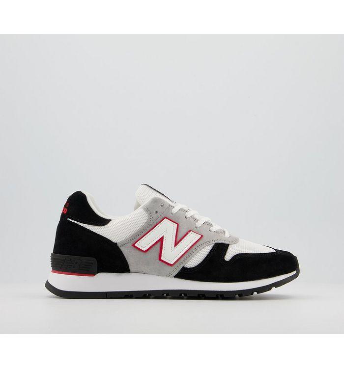 Comme Des Garcons New Balance 670 Trainers BLACK WHITE RED JW,Black