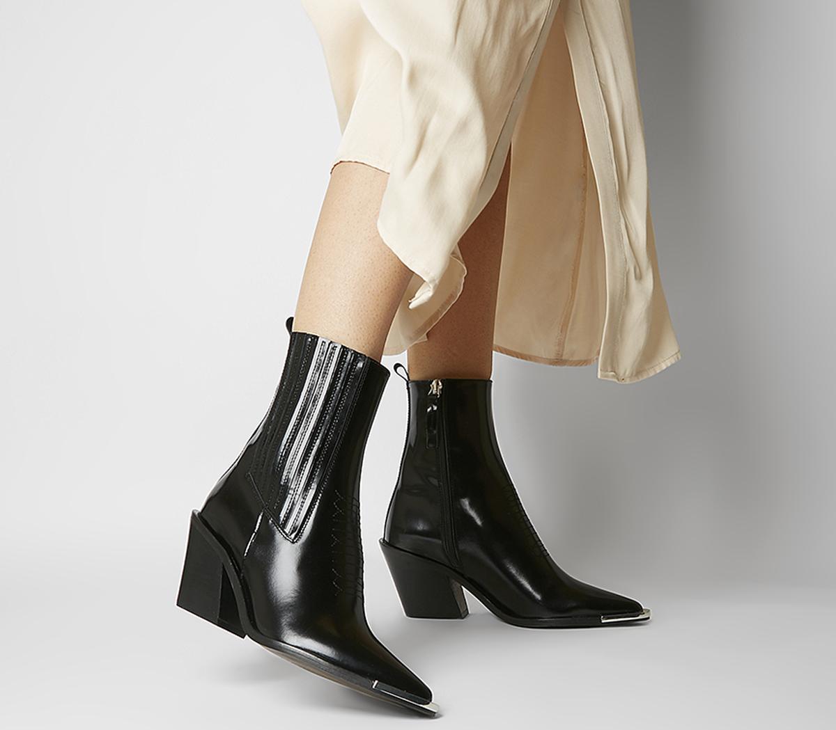 Arabella High Cut Western Boots