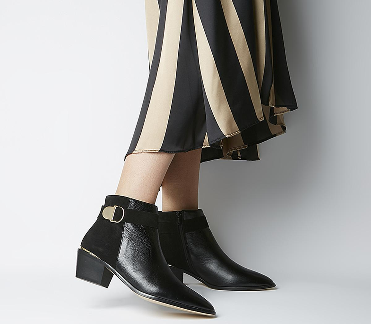Aretha Buckle Boots