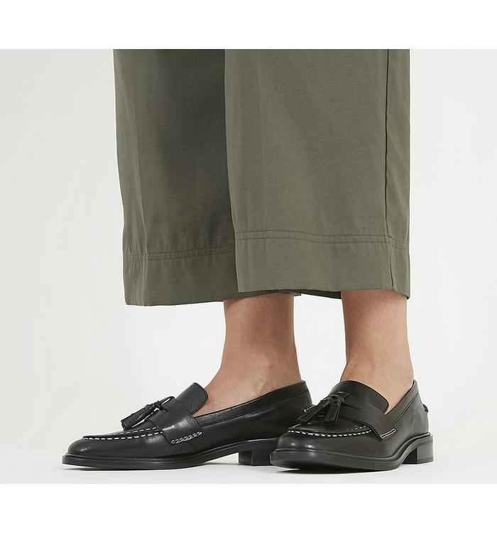 Office Office Falling Loafer BLACK LEATHER