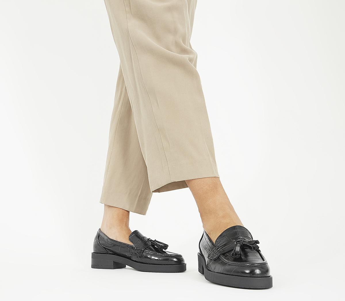 Flip Tassel Loafers