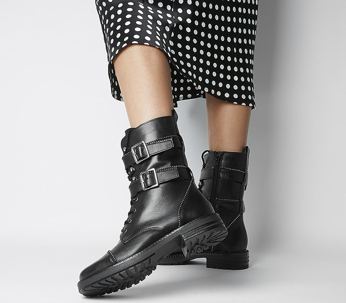Another One High Cut Lace Up Boots