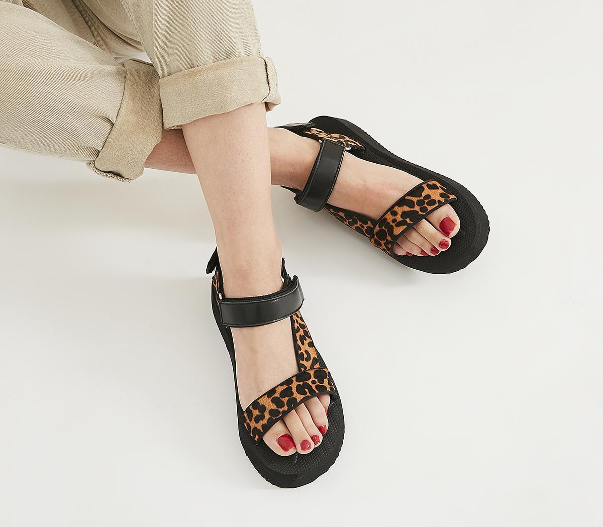 Office Springy - Sporty Sandal Leopard