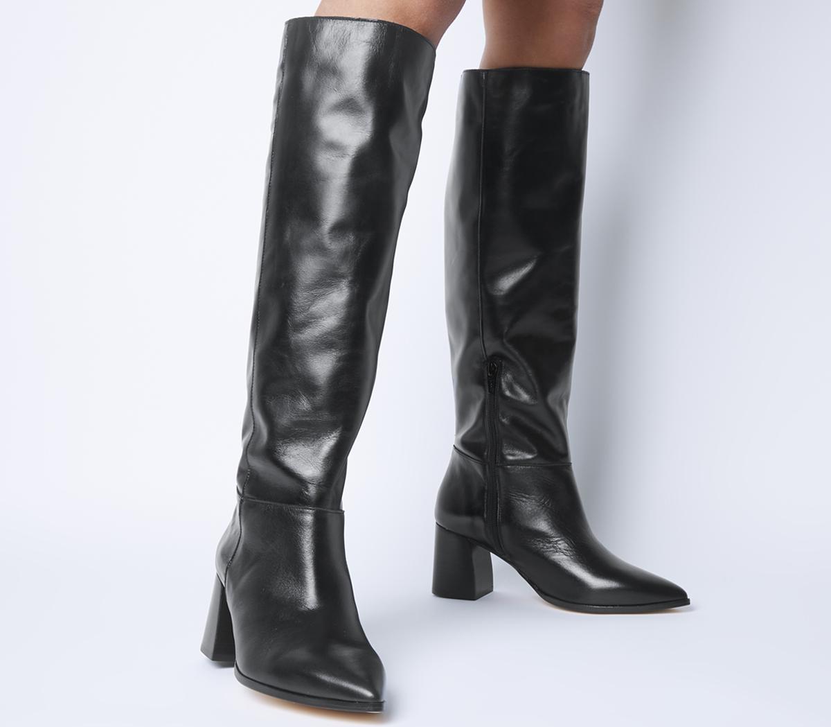 Kali Block Heel Knee Boots