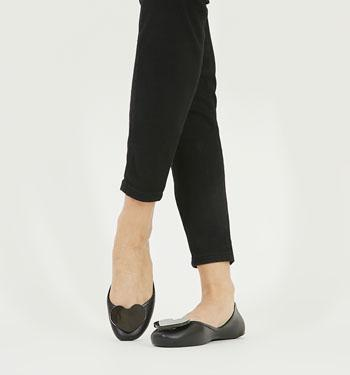 plain black zaxy shoes