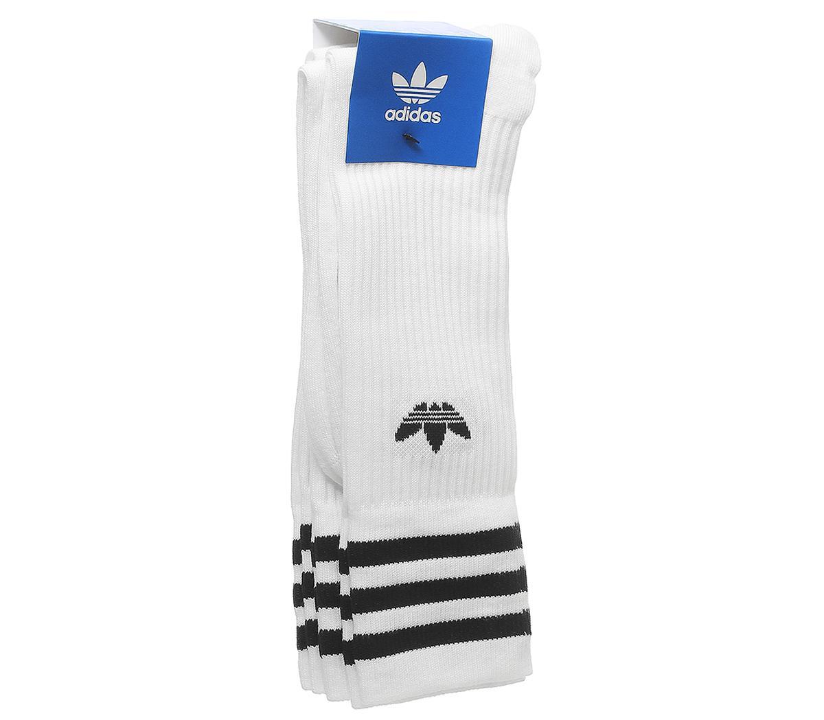 Solid Crew Socks 3 Pack