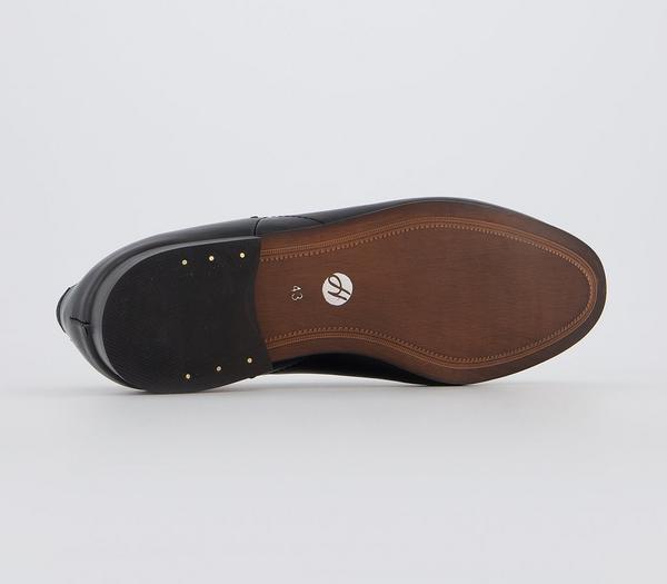 Hudson London Blythe Bar Loafer Black Calf - Smart cR7Ou1I
