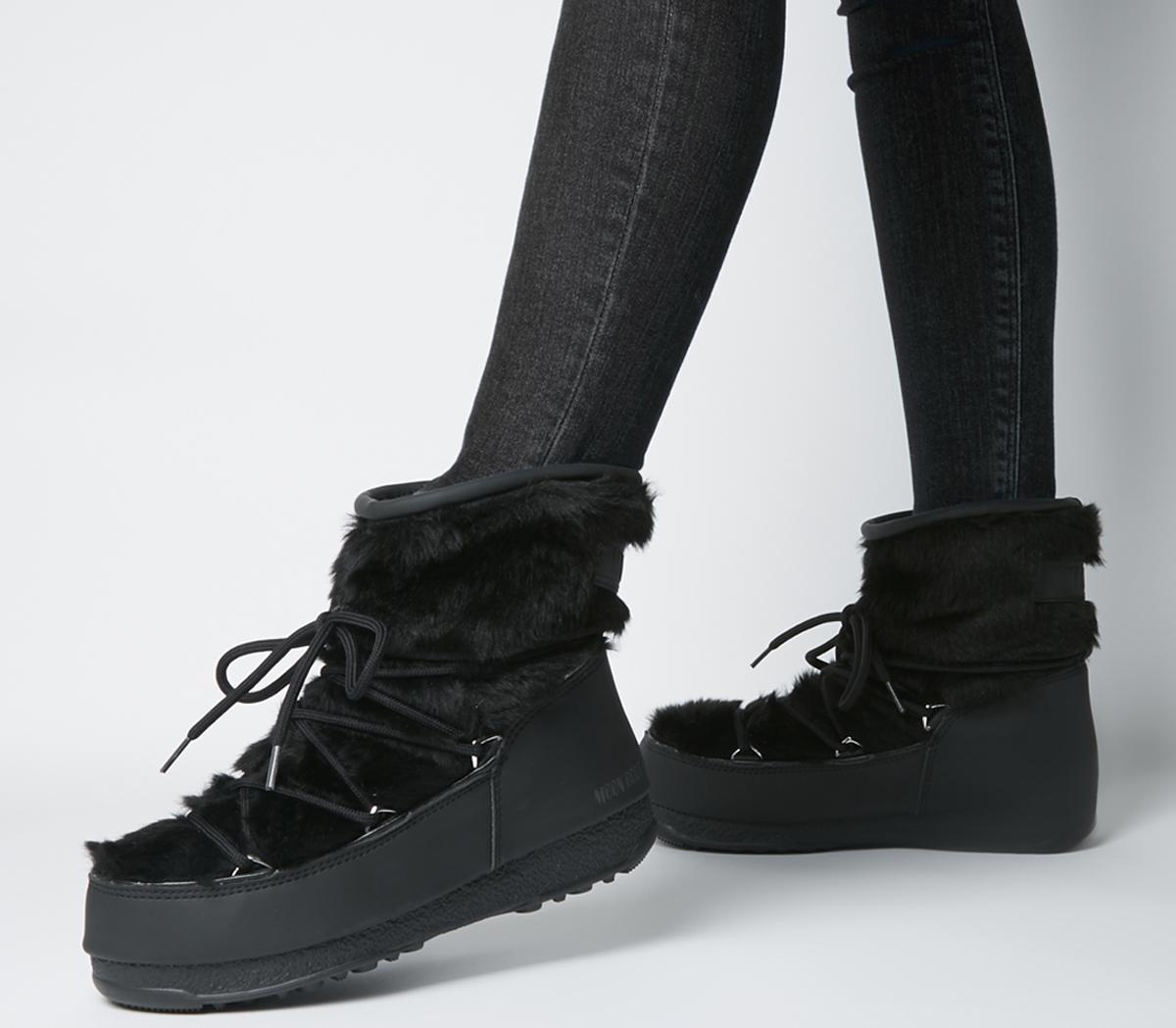 Monaco Low Fur Moon Boots