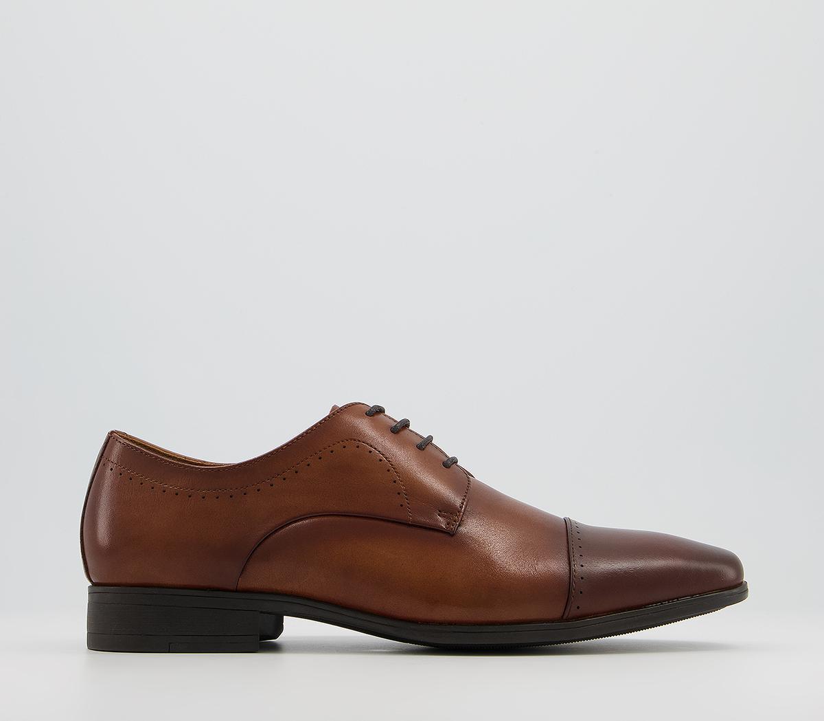 Memoir Toe Cap Derby Shoes