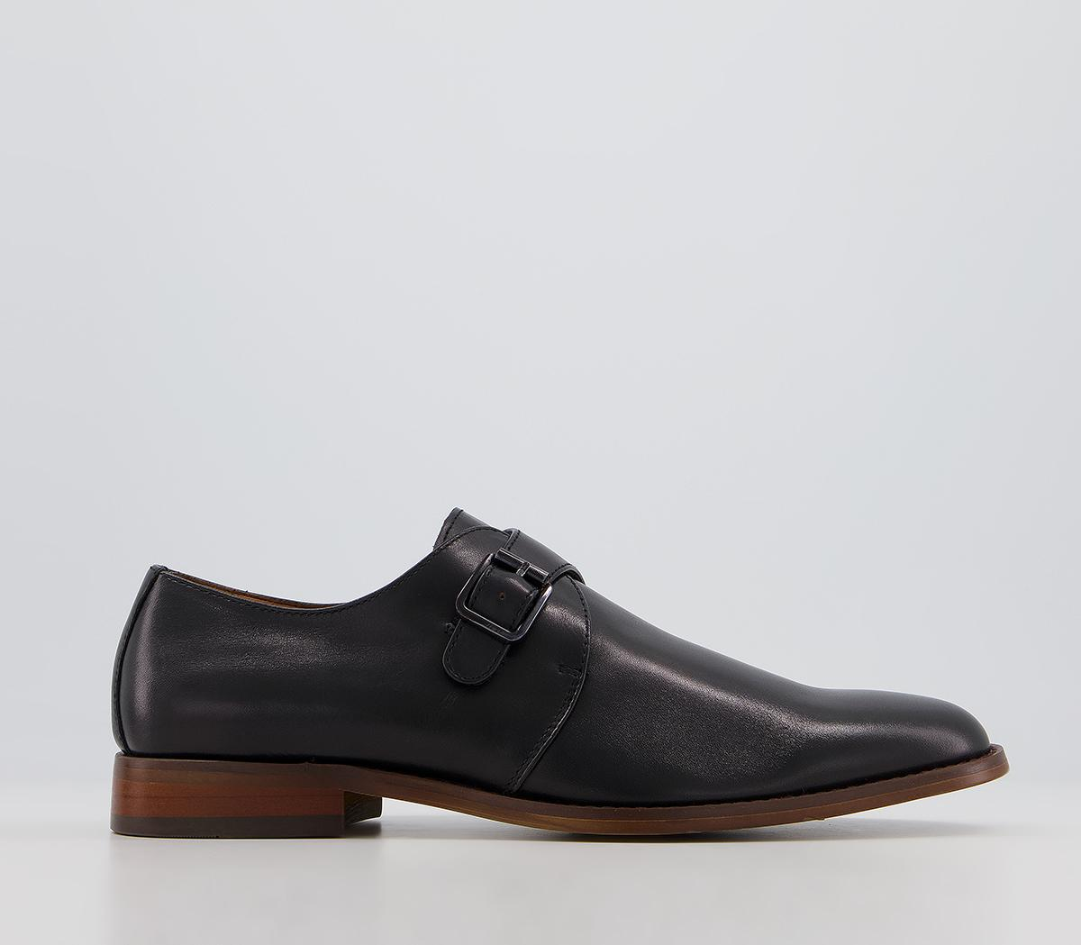 Master Single Strap Monk Shoes