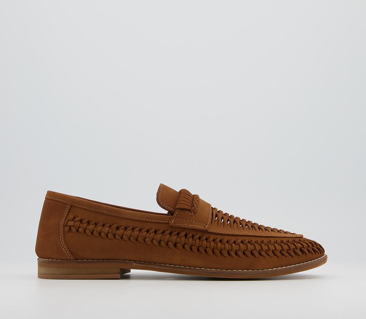 Chiswick Woven Saddle Slip On Loafers