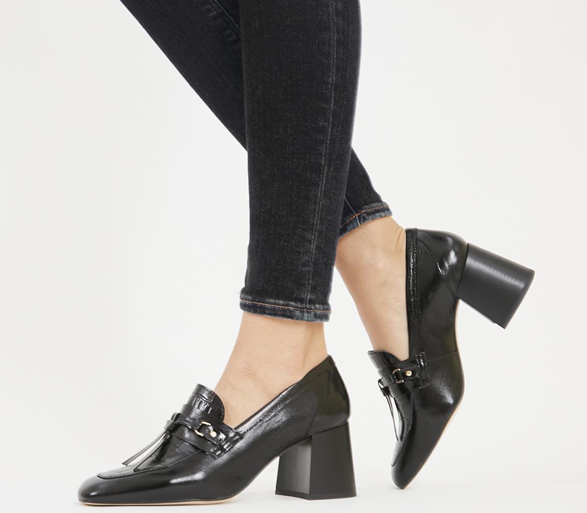 Matilda- Block Heel Loafer