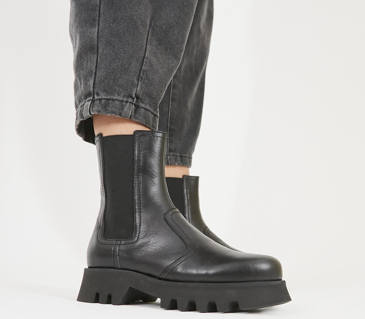 Office Avidity Chelsea Boots Black