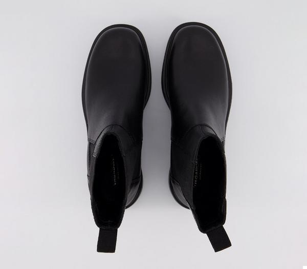 Vagabond Tara High Boots Black - Ankle Boots wcet7Sv