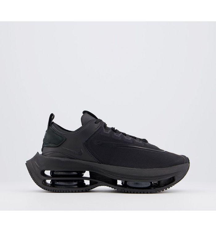 Nike Zoom Double Stacked Trainers BLACK BLACK BLACK DARK SMOKE GREY,Black