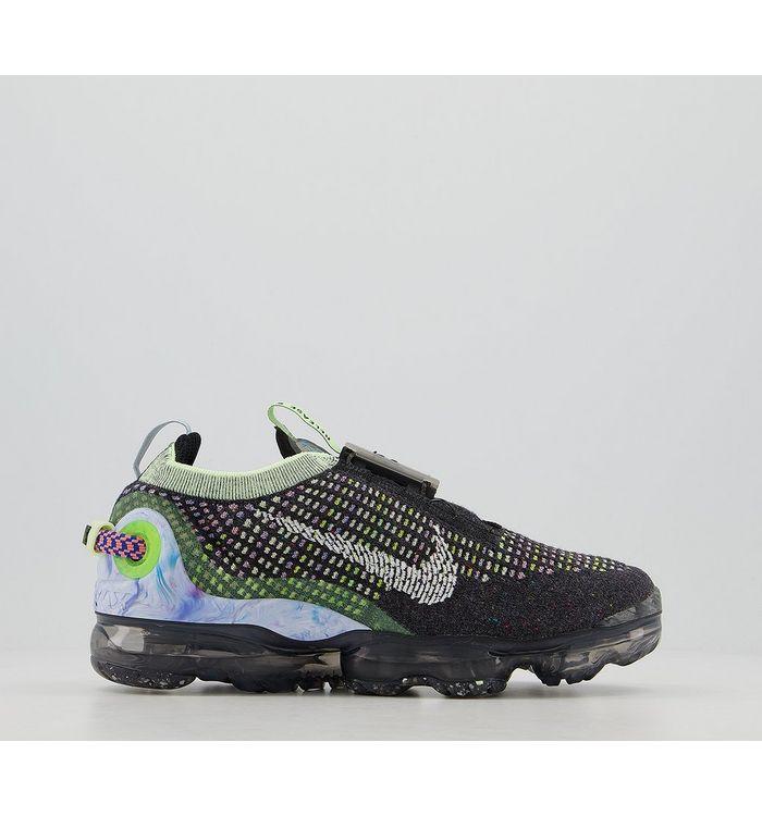 Nike Air Vapormax 2020 Fk BLACK WHITE BARELY VOLT ATOMIC PINK,Black