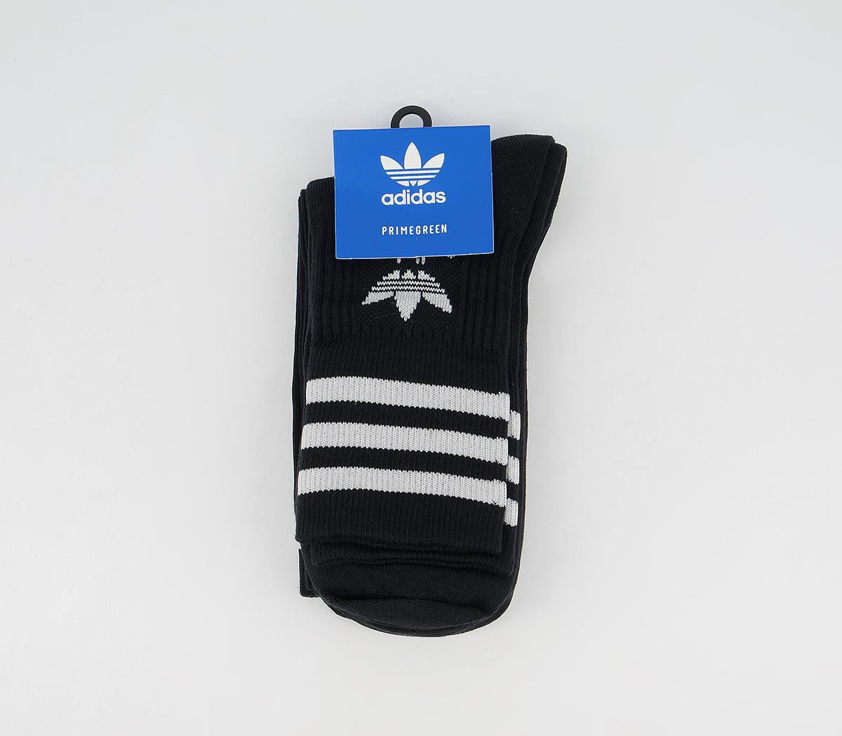 Mid Cut Crew Socks 3 Pack