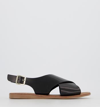 Office Seychelles Cross Strap Sandals
