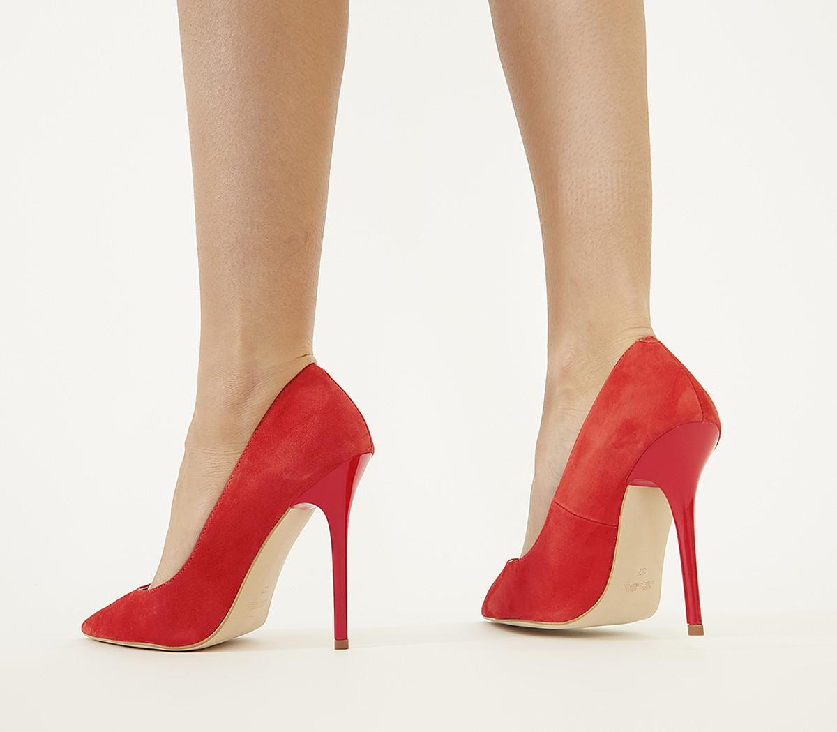 Office Honestly - Court Shoe Red Kid