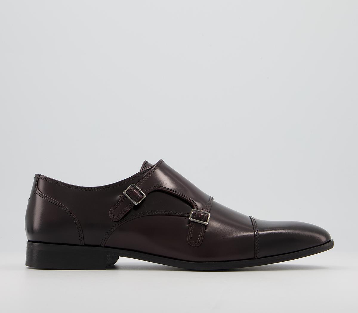 Pascal Toecap Monk Shoes