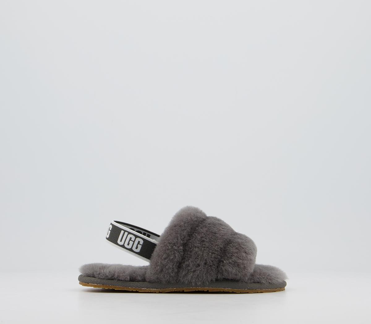 Fluff Yeah Slide Infant Slippers