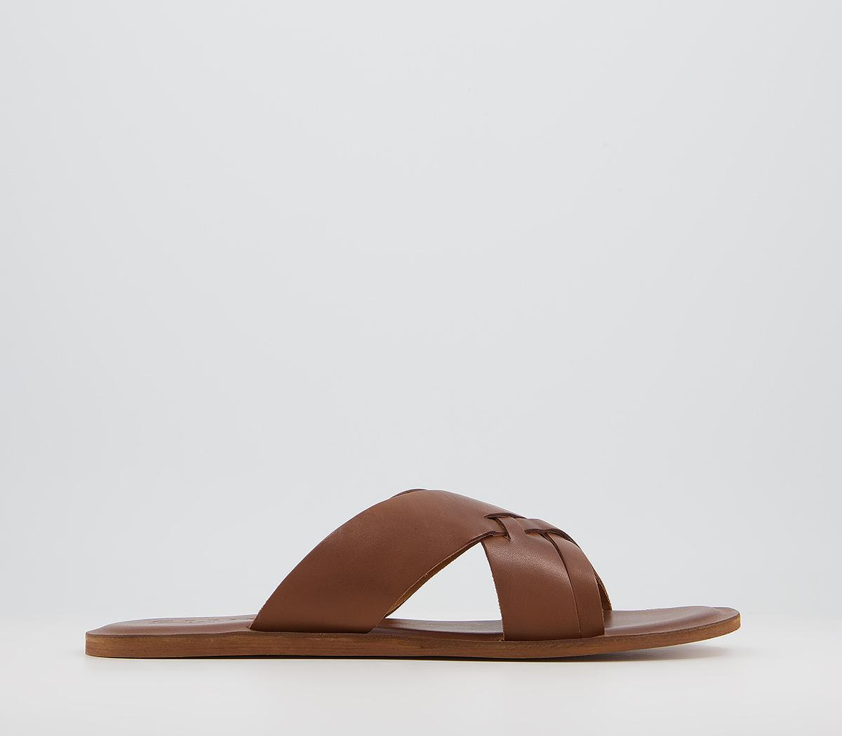 Sicily Cross Strap Sandals