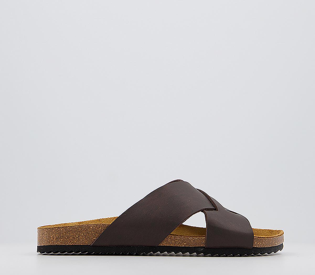 Siena Cross Strap Sandals