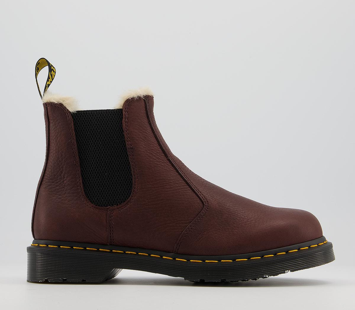 2976 Fur Lined Chelsea Boots