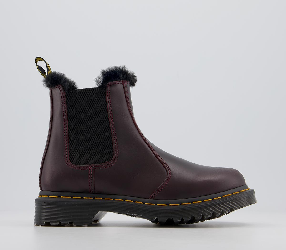 2976 Leonore Fur Lined Chelsea Boots