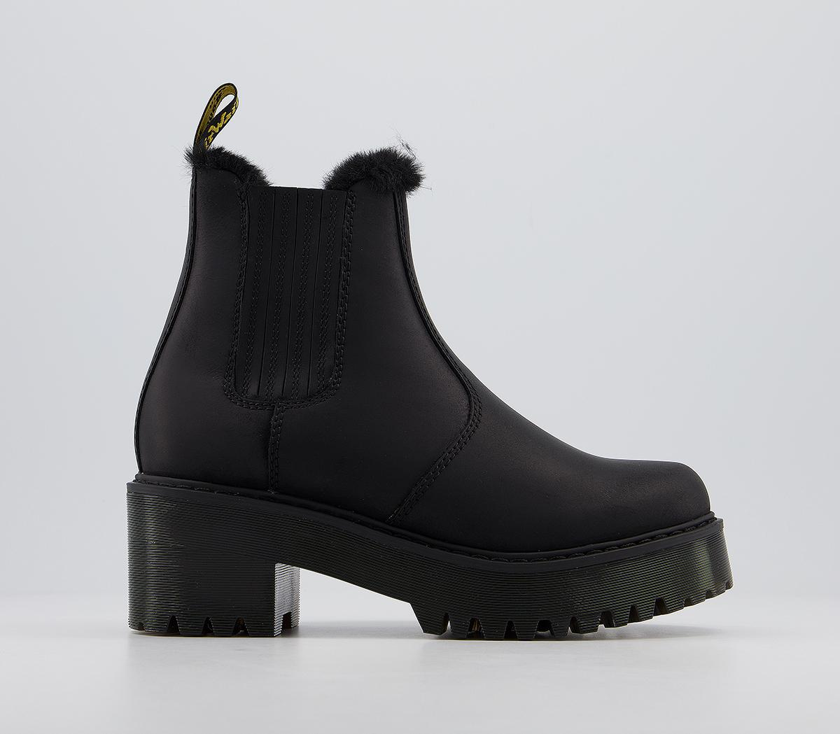 Rometty Fur Lined Chelsea Boots