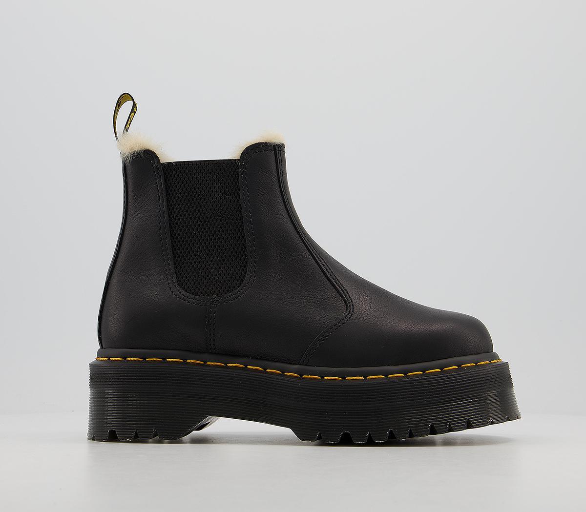 2976 Quad Fur Lined Chelsea Boots