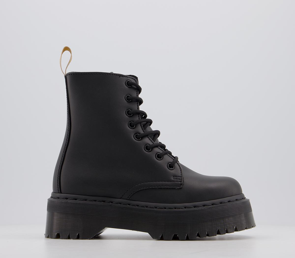 Dr Martens Vegan Jadon Boots Black Ankle Boots