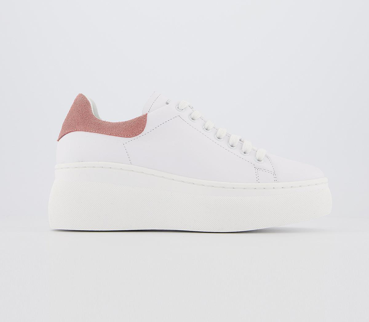 Office Fetched Chunky Trainers White